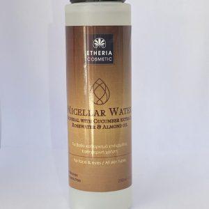 Micellar Water με Ροδόνερο και Εκχύλισμα Αγγουριού